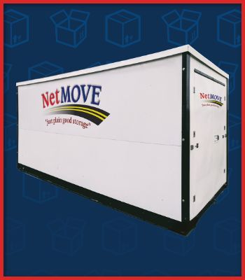 Portable Storage Units, NetMove, Inc offers multiple storage solutions: